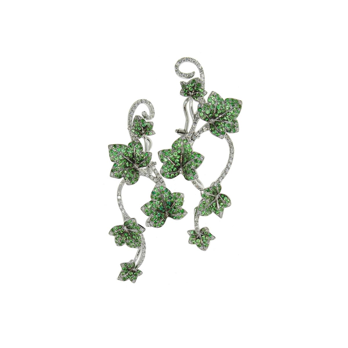 Green Ivy Earrings
