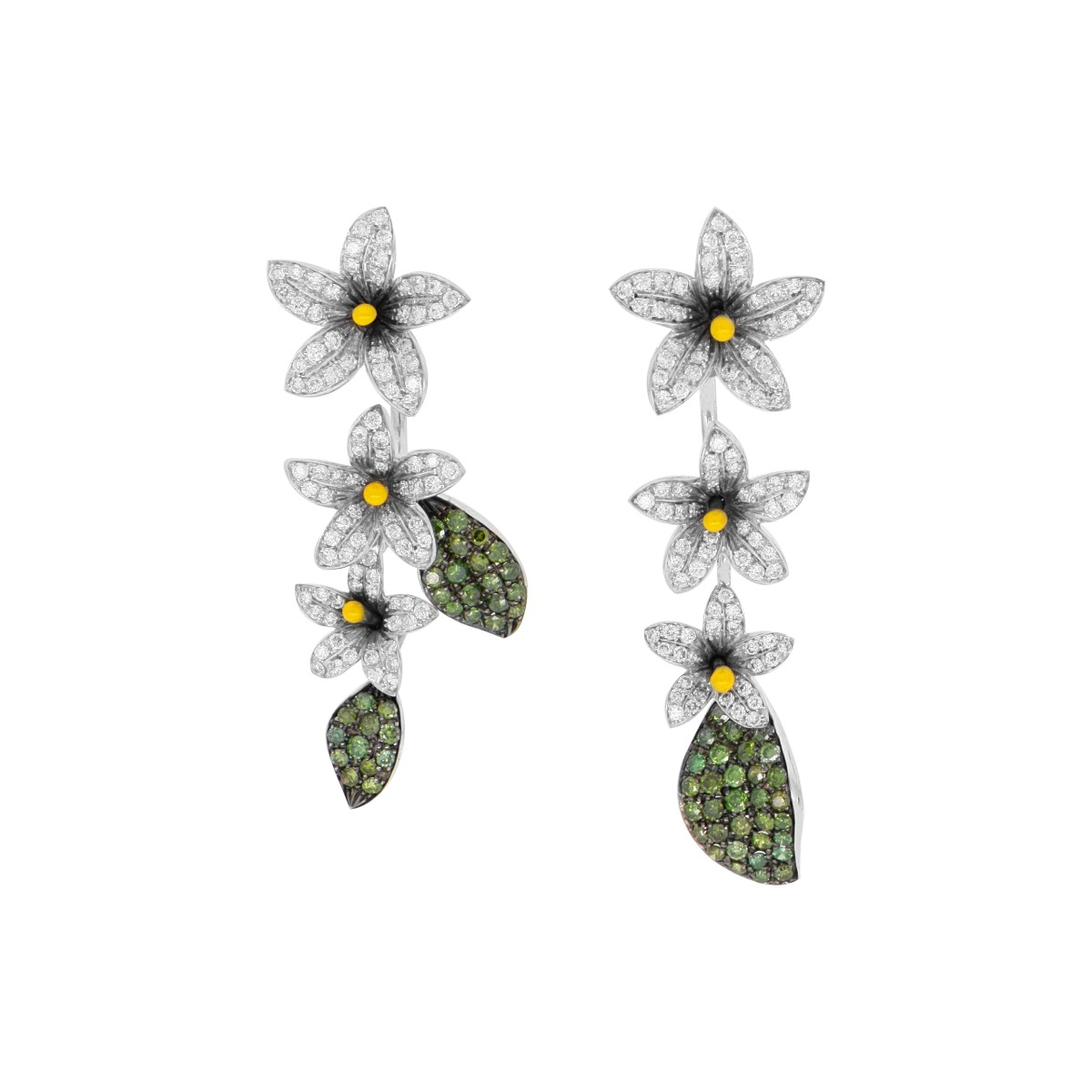 Arabian Star Flower Earrings