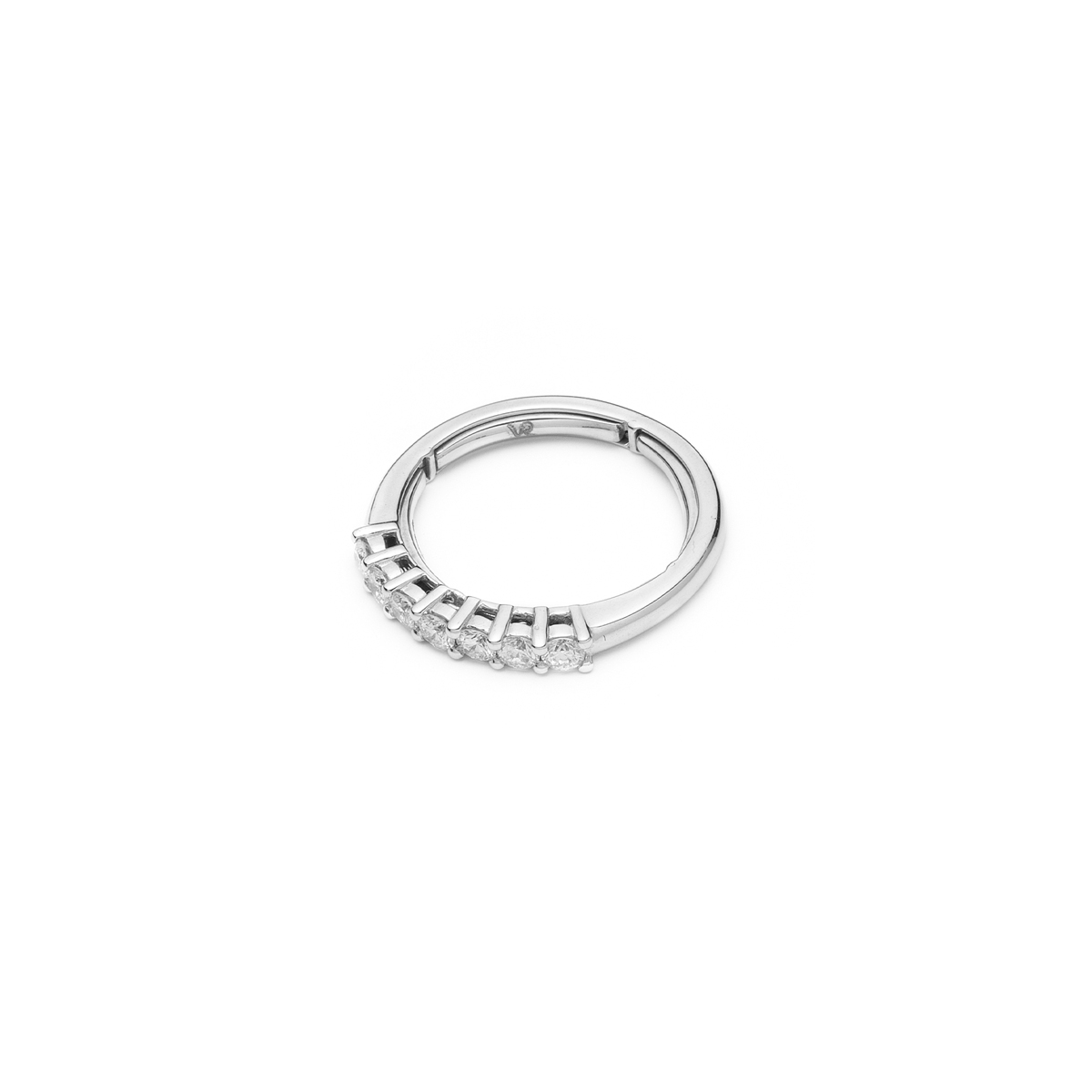 Half-Eternity Diamond Ring