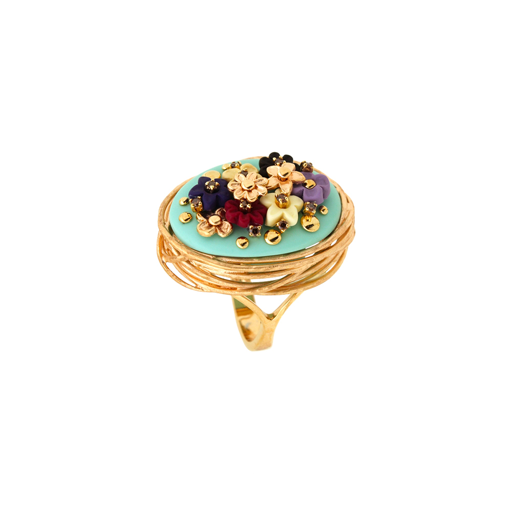 Flower Party Ring
