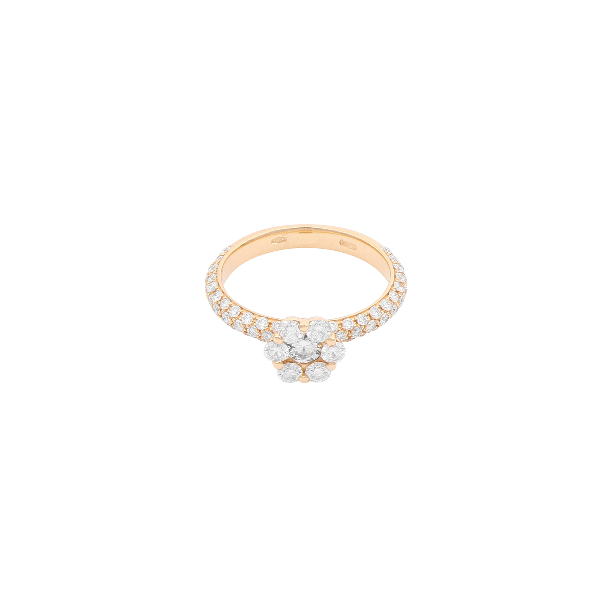 Magic Collection Flower diamonds ring