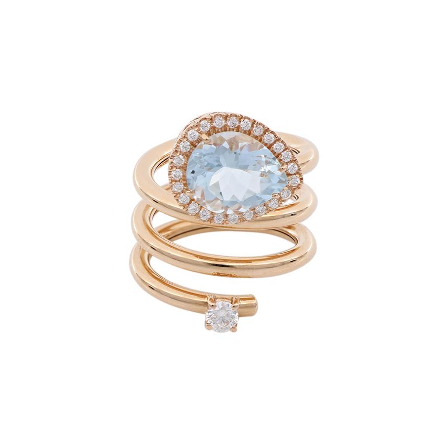 Fantasy Rhodolite Ring