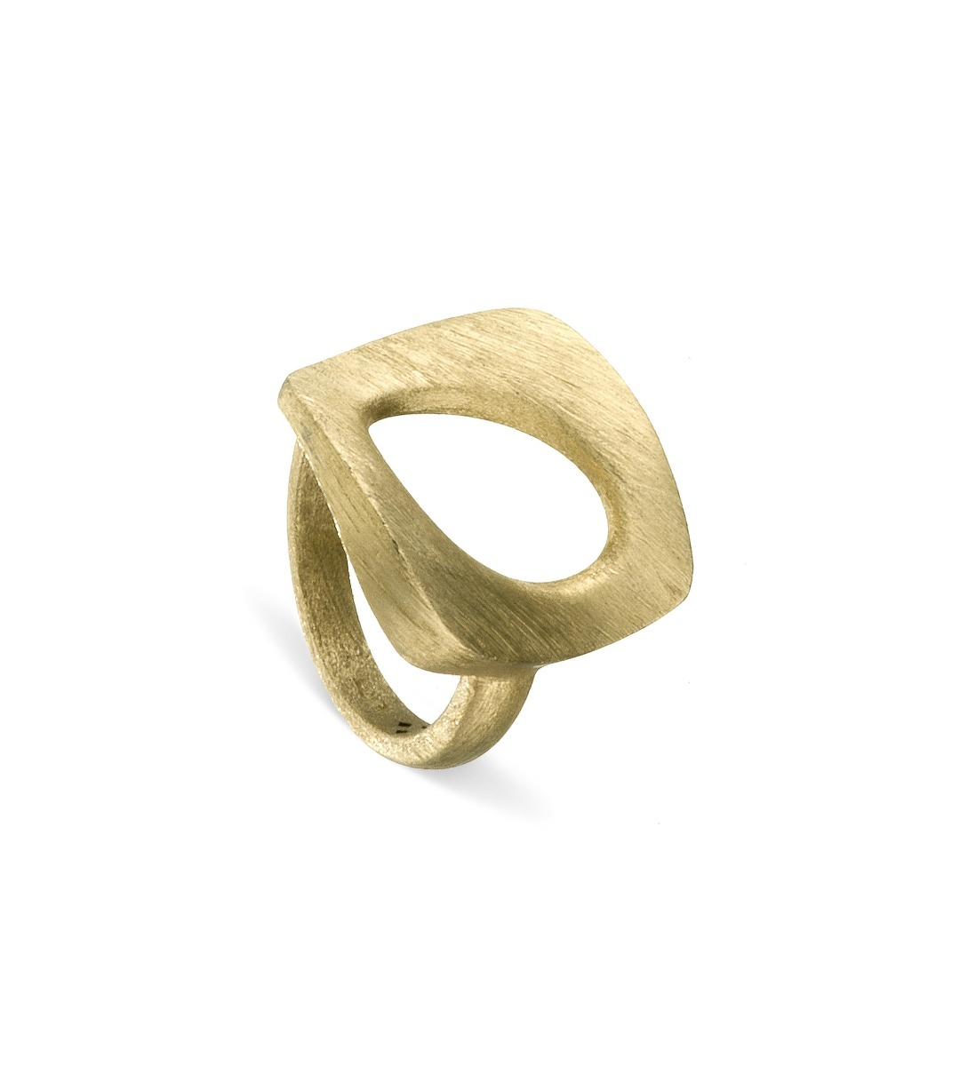 Abstract Leaf Ring
