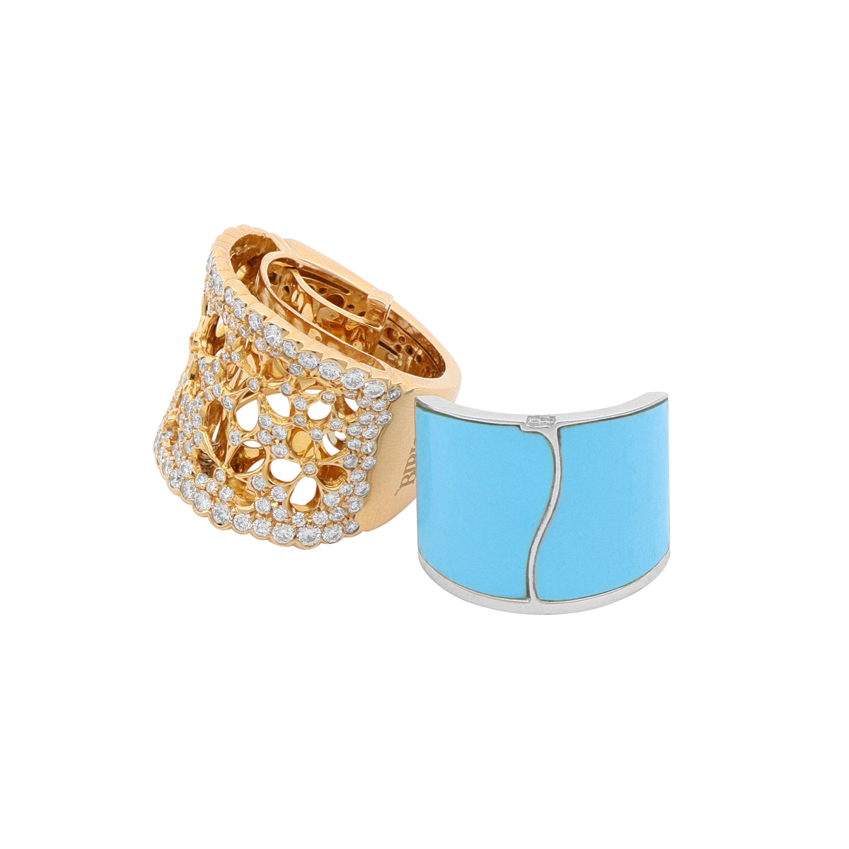 Detachable Turquoise Band Ring