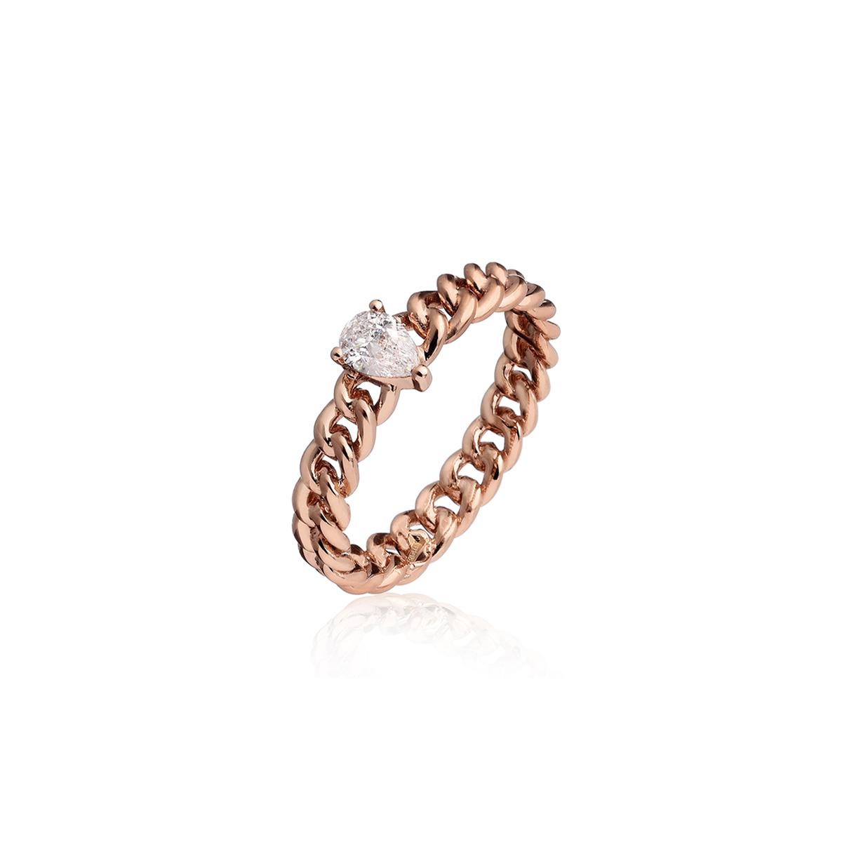 Minigroumette - Fancy Drop Ring