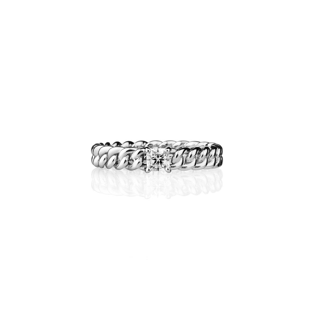 Minigroumette - Fancy Square Ring
