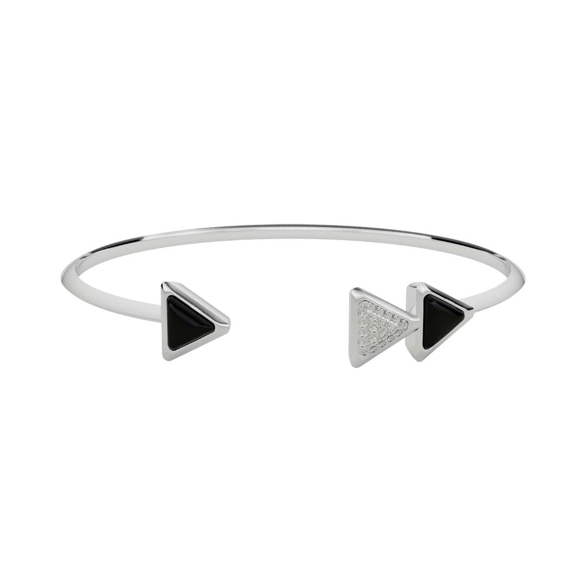Bracelet Dove Vai Forward Exquisite White Gold Onix and Diamonds