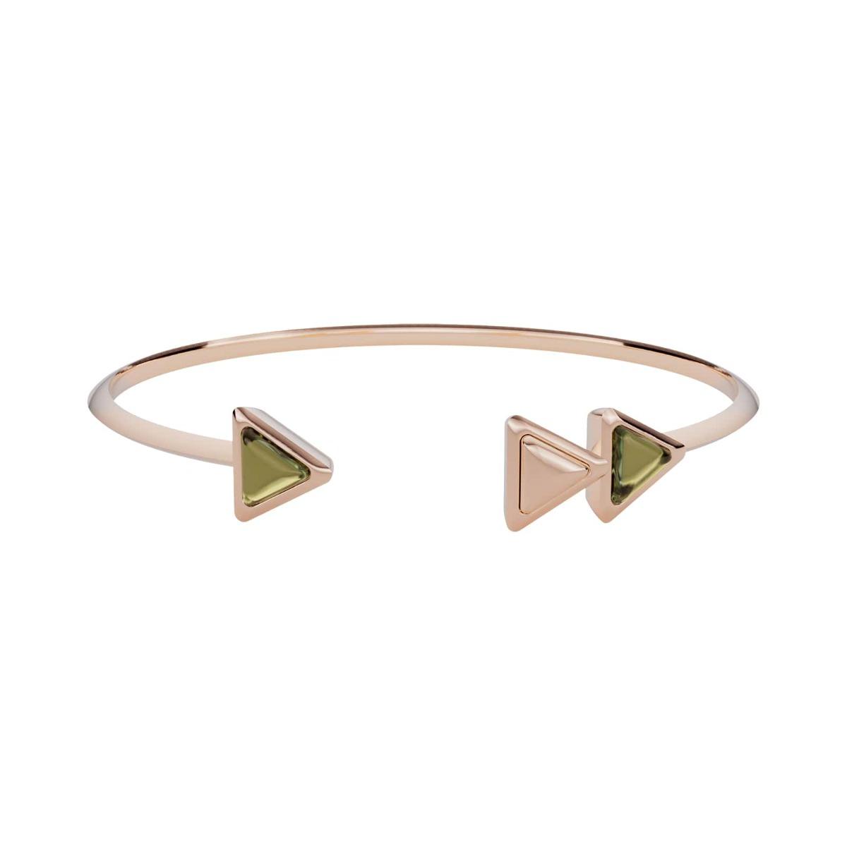 Bracelet Dove Vai Forward Gem Rose Gold Green Tourmaline