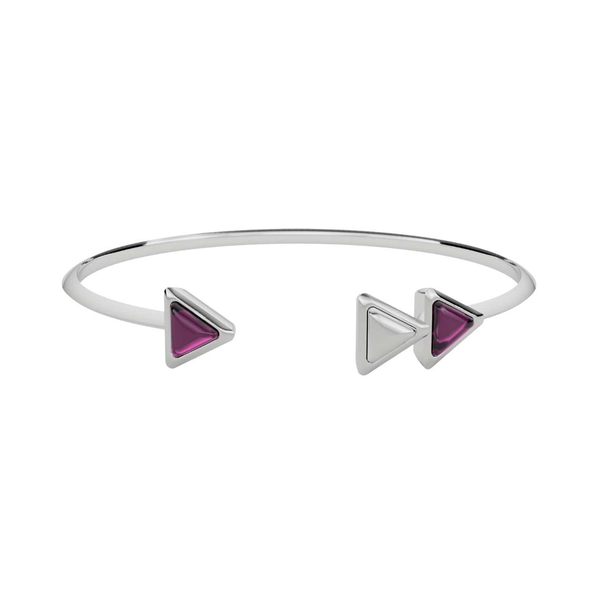 Bracelet Dove Vai Forward Gem Rose Gold Pink Garnet
