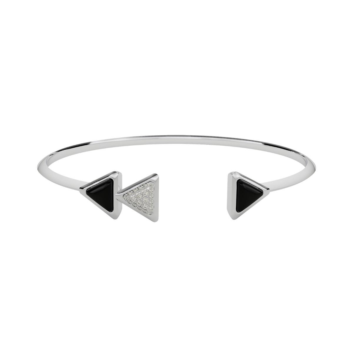 Bracelet Dove Vai Rewind Exquisite White Gold Onix and Diamonds