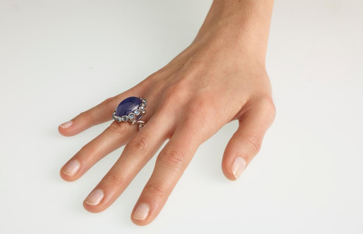 Ad Astra Tanzanite Ring