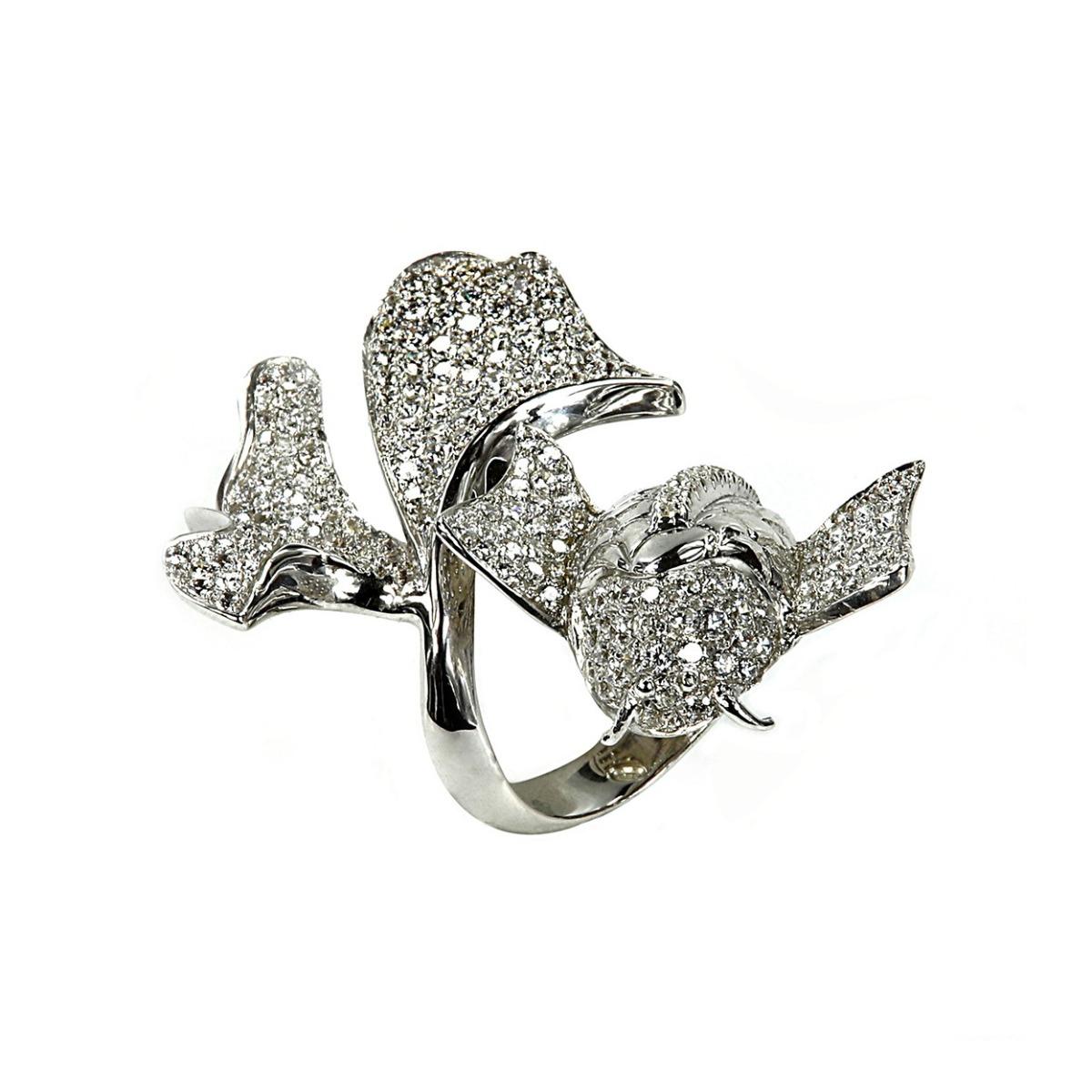 Fantasy Sea Silver Ring