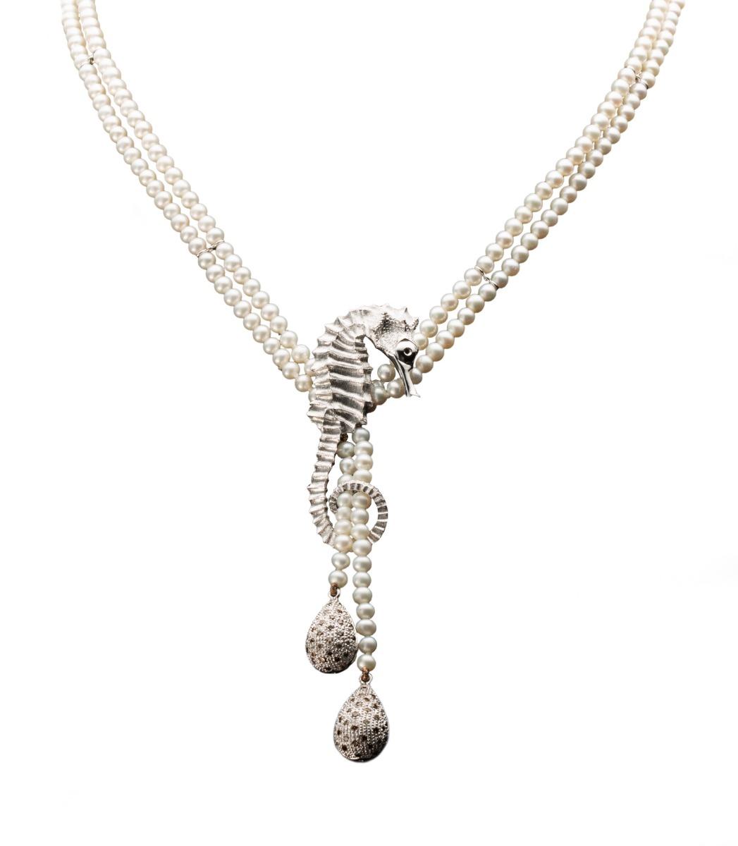 Hippocampus Necklace