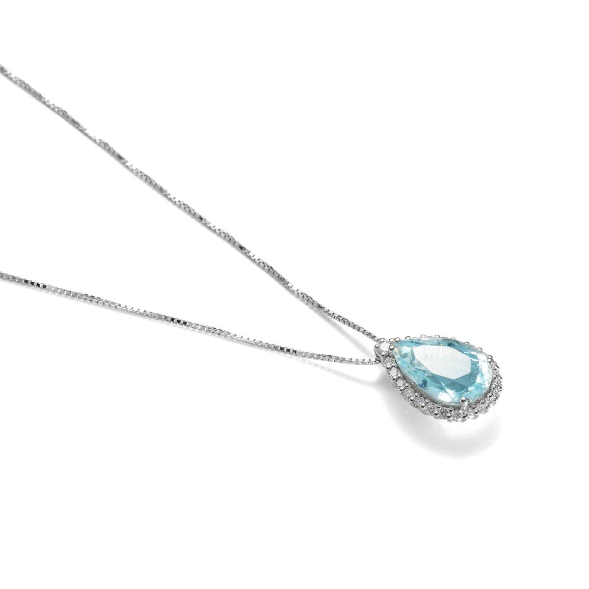 Fantasy Aquamarine Pendant