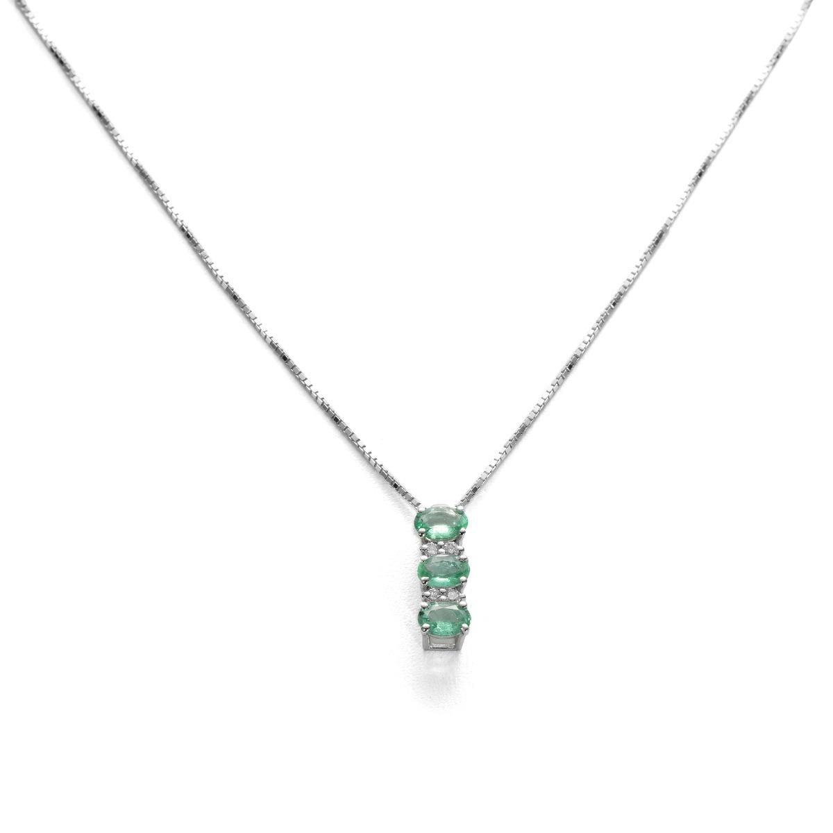 Fantasy Emerald Pendant