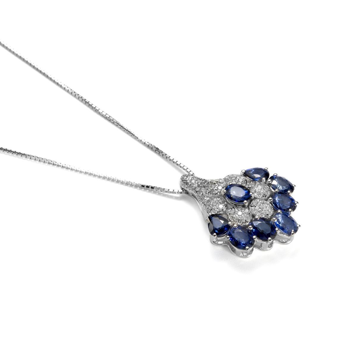 Fantasy Sapphire Pendant