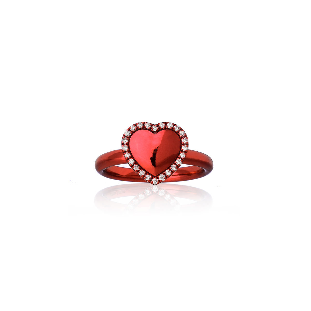 Heart Cocktail Ring