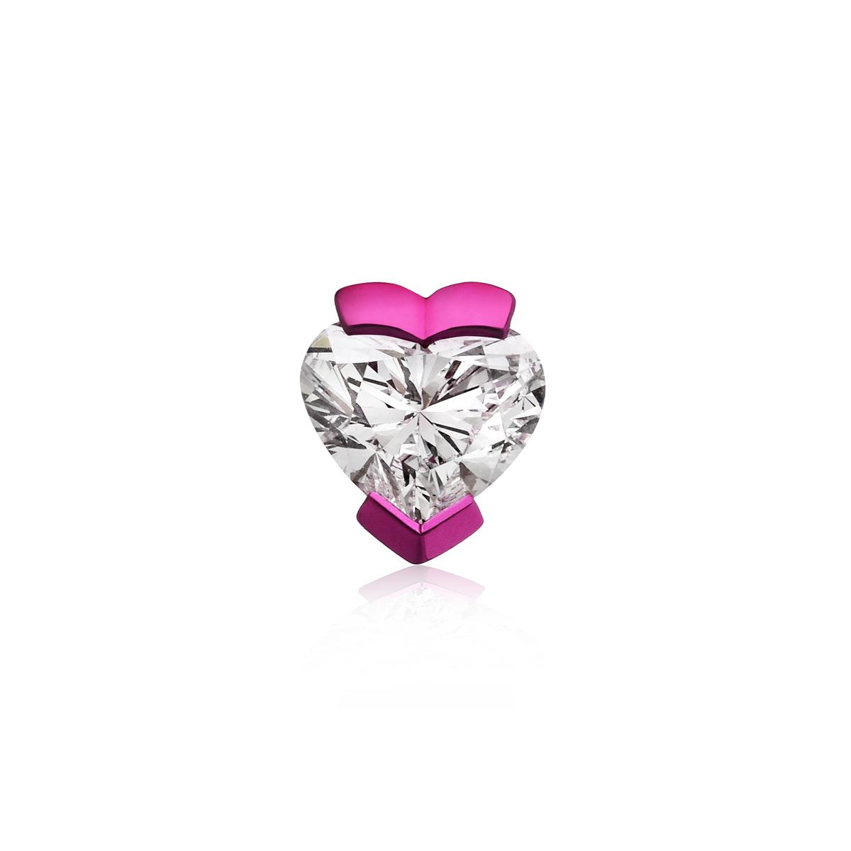 Heart Mono Earring