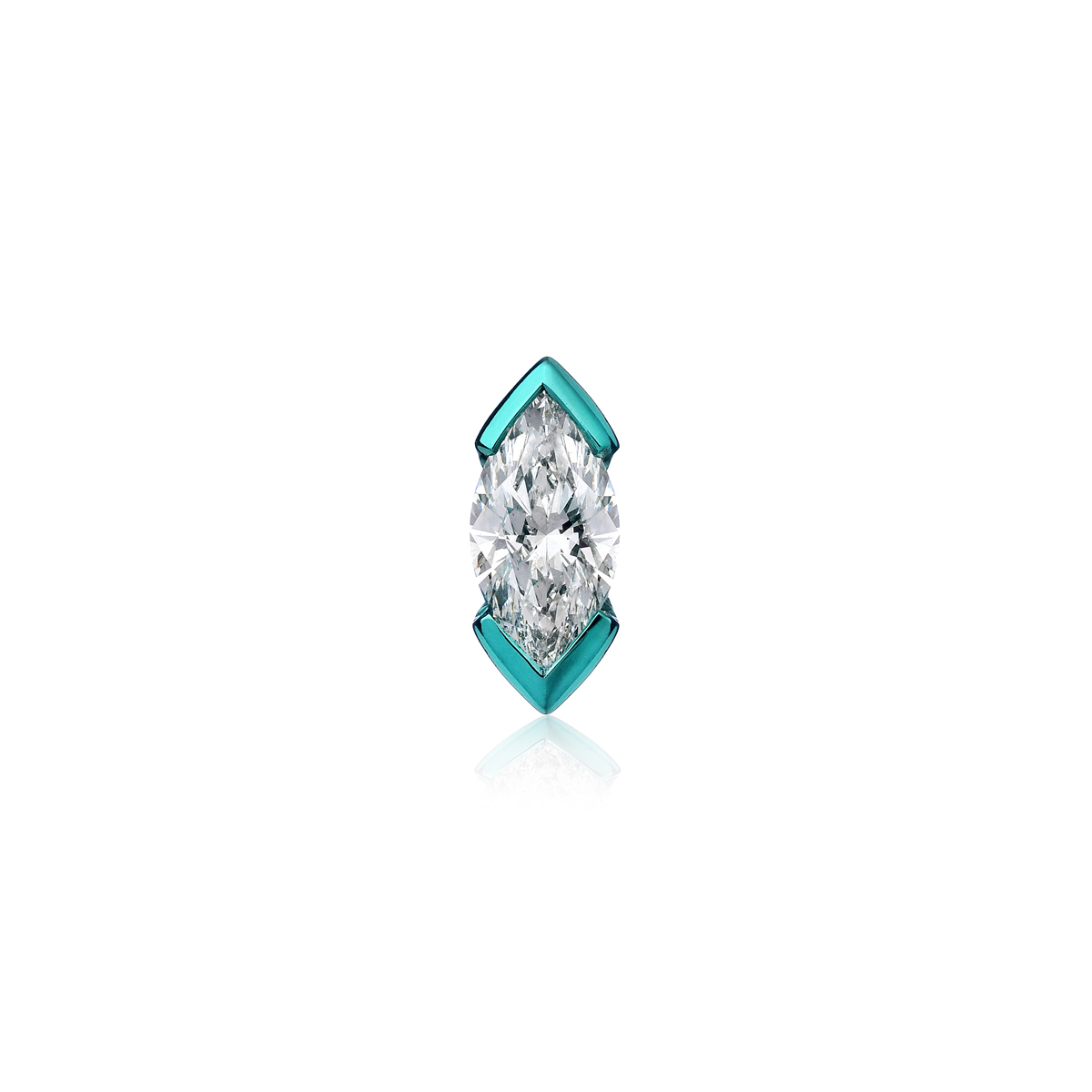 Mono Marquise Earrings