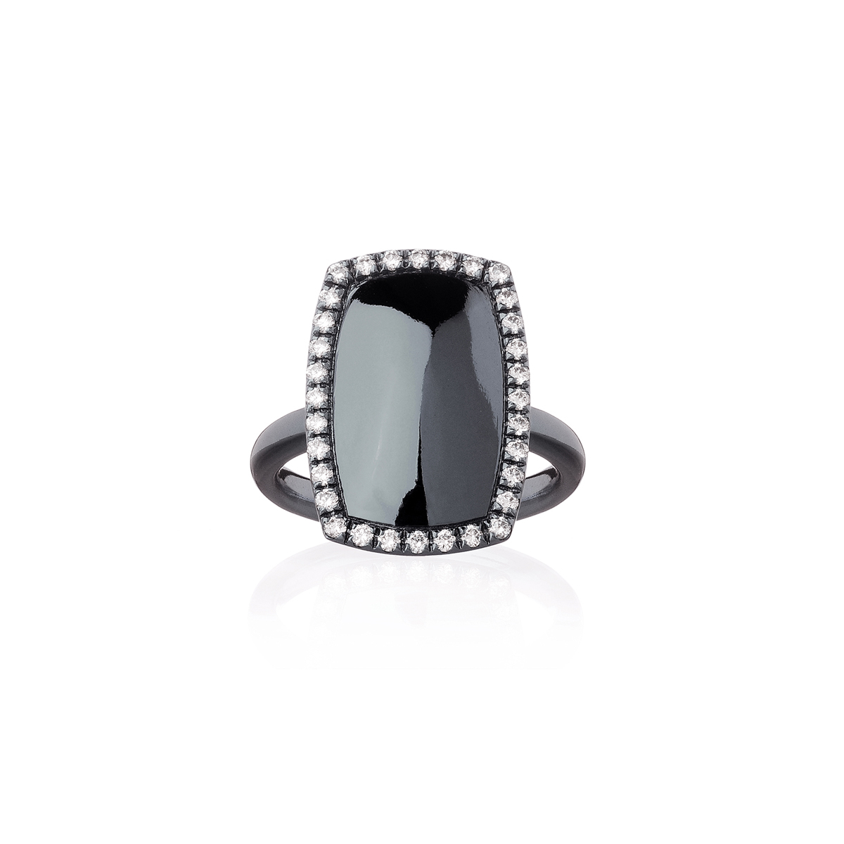 Rectangle Cocktail Ring