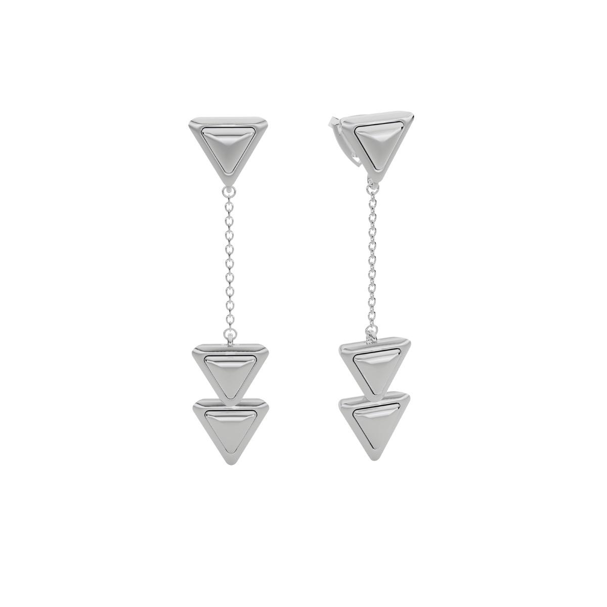 Earrings Dove Vai Forward Essential Full White Gold