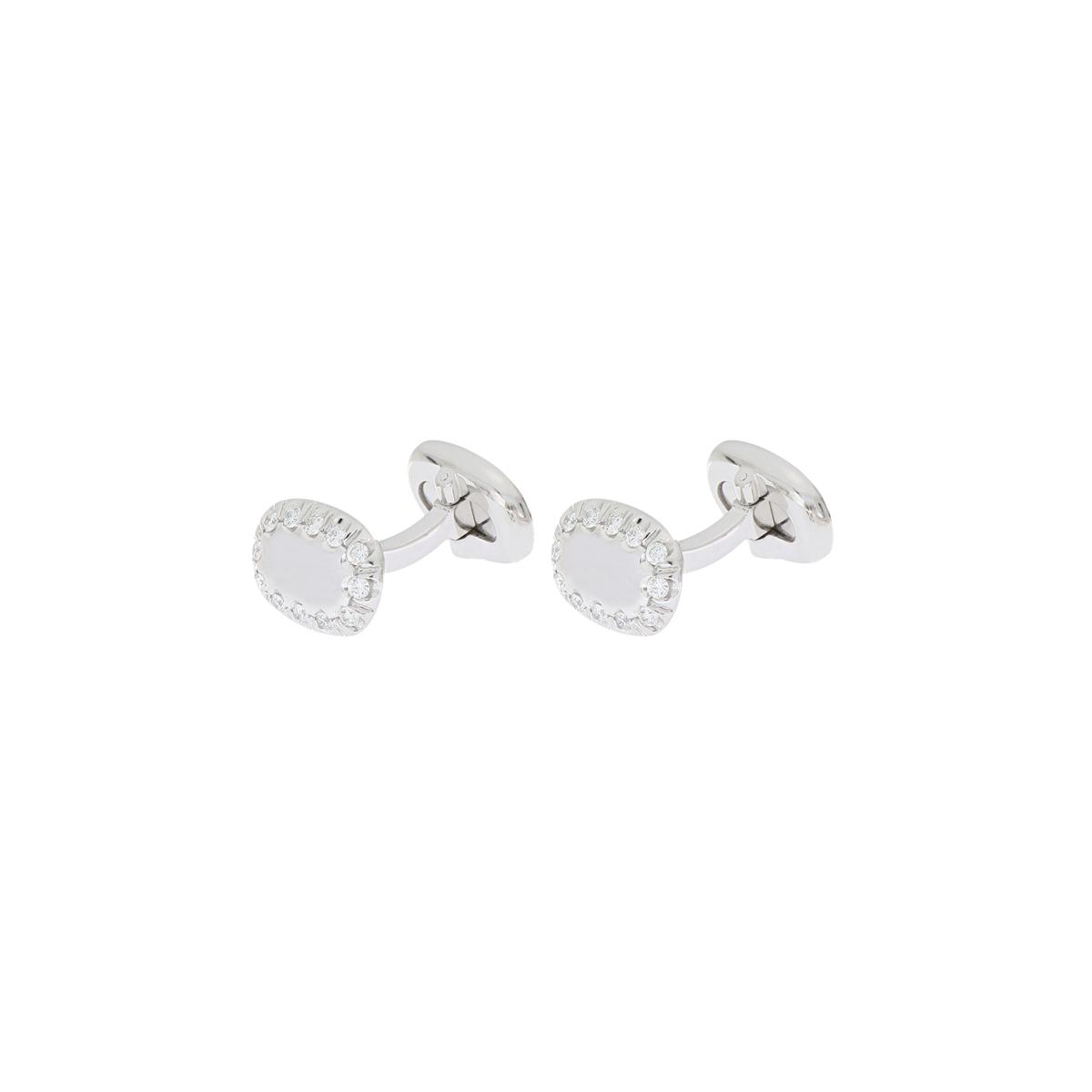 Precious Diamonds Cufflinks