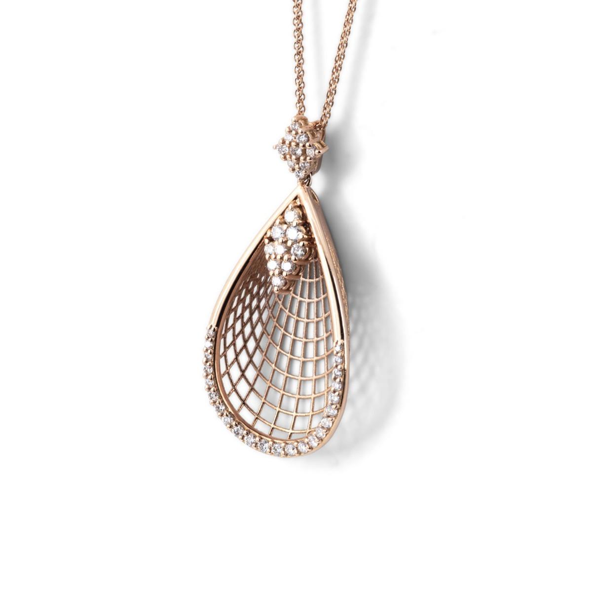 Calla Flower Pendant Necklace