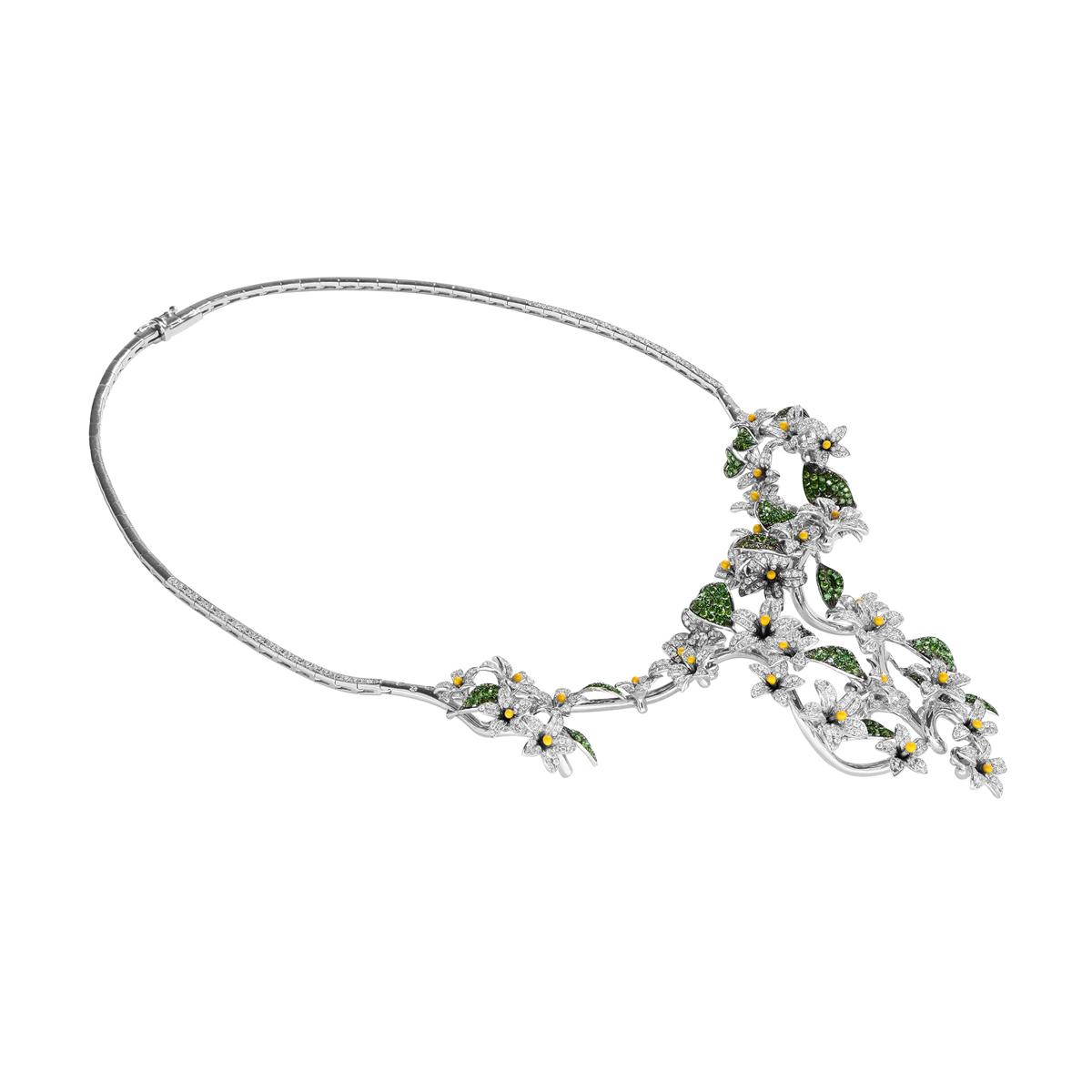 Arabian Star Flower Necklace