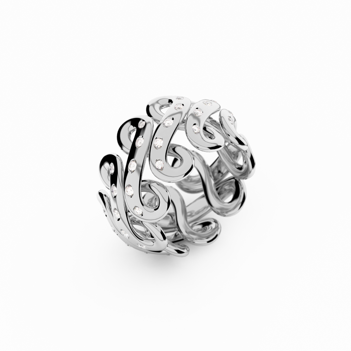 Infinity Collection Platinum Ring