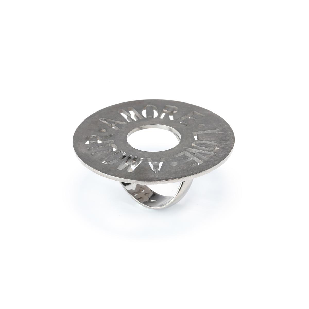 Fantasy Black Silver Ring