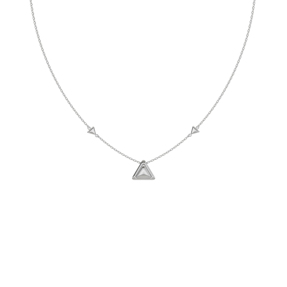 Necklace Be The One Full White Gold