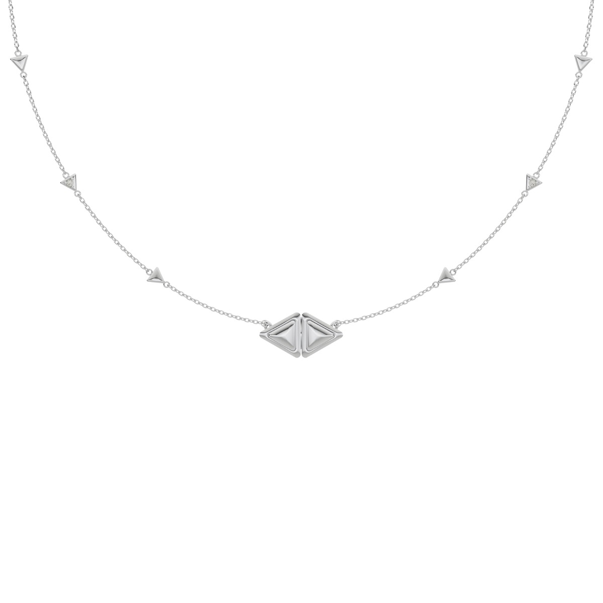 Necklace Mirror Essential Full White Gold