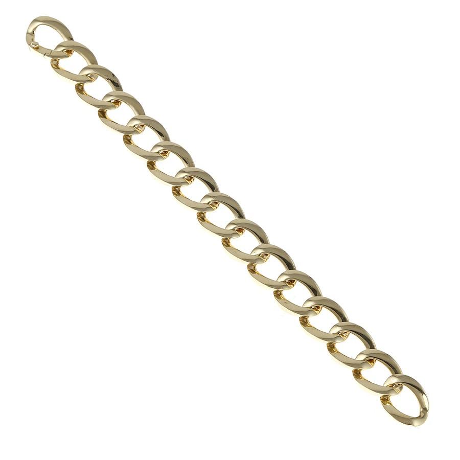 Twisted Curb Chain Bracelet (Sim Version)