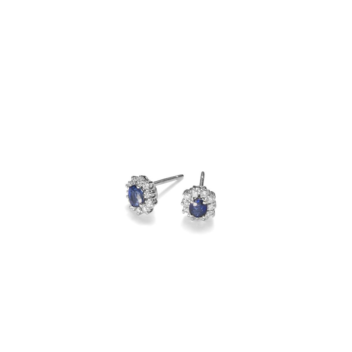 Fantasy Sapphire Earrings