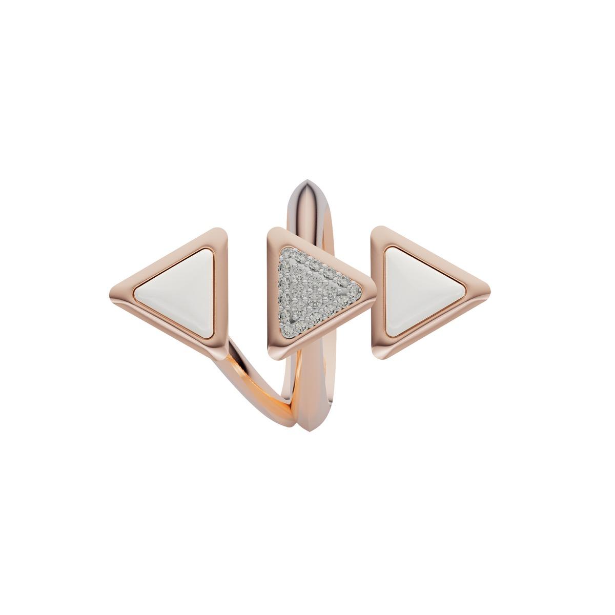 Ring Dove Vai Rewind Rose Gold Kogolong and Diamonds