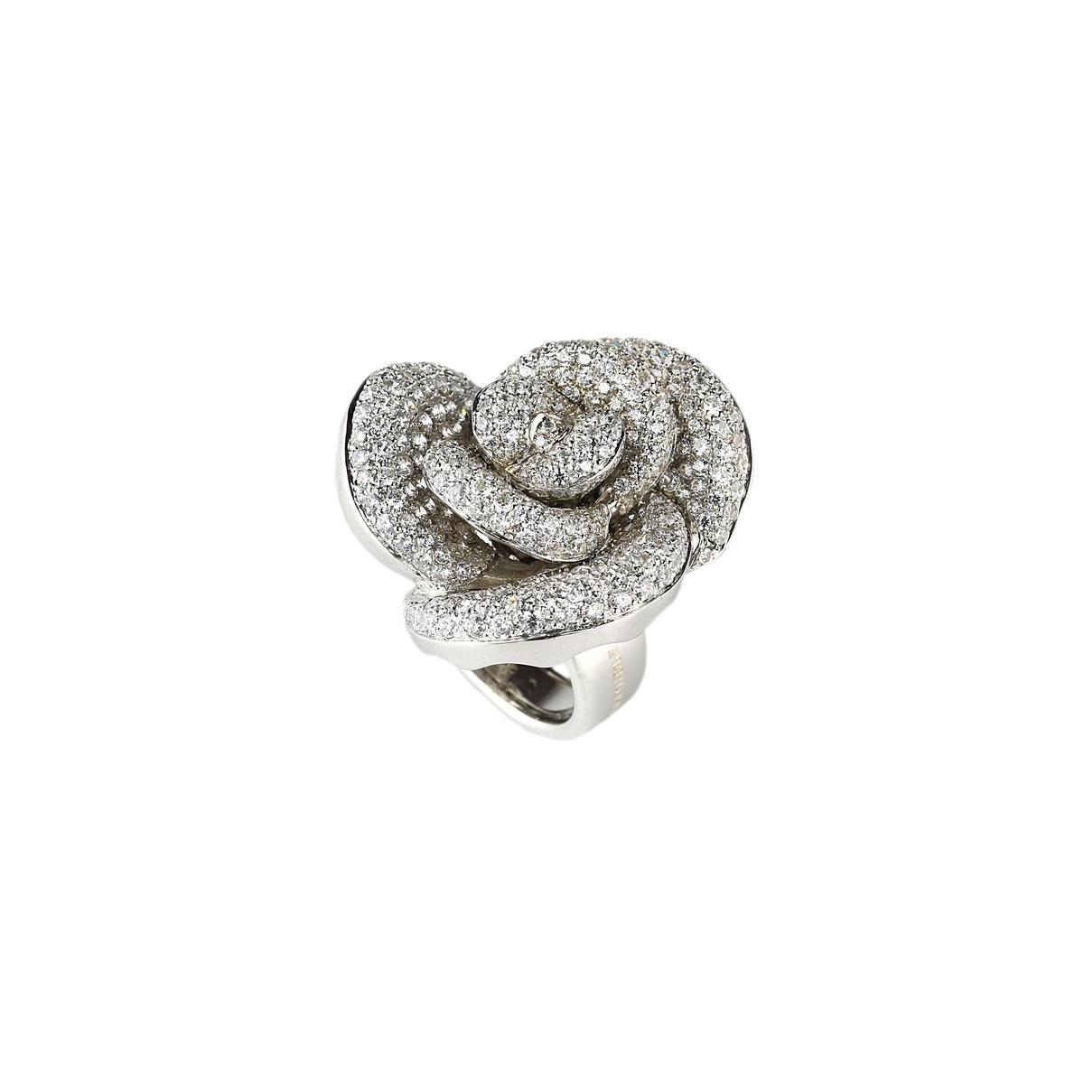 Pavè Silver Ring