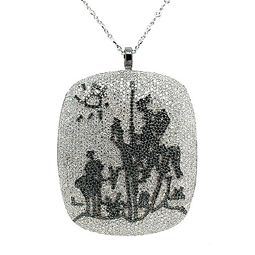 The Don Quixote jewel is an exceptional beauty